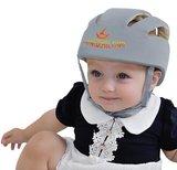 Baby valhelm zacht Blauw stippen vanaf 8 maanden_