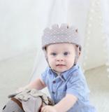 Baby valhelm zacht Grijs stippen vanaf 8 maanden_