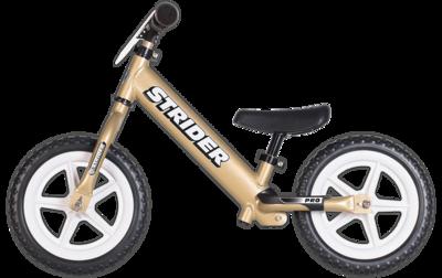 **PRO-GOLD** Ultra lichtgewicht Strider loopfiets. Loopfiets voor kinderen 1,5 tot 5 jaar.