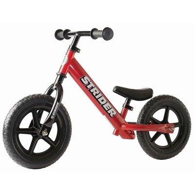 **Classic** Rode Strider loopfiets. Loopfiets voor kinderen 1,5 tot 5 jaar.