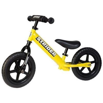 **Sport** Gele Strider loopfiets. Loopfiets voor kinderen 1,5 tot 5 jaar.