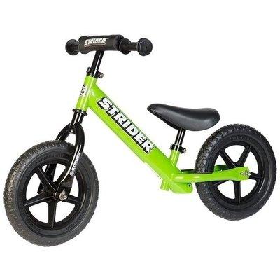 **Sport** Groene Strider loopfiets. Loopfiets voor kinderen 1,5 tot 5 jaar.
