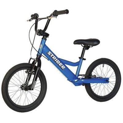 Loopfiets Super Strider 16 Sport Blauw voor kinderen van 6 tot 12 jaar versie 2