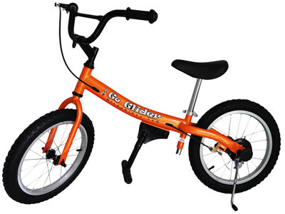 Glide Bike 16 inch loopfiets 5 tot 10 jaar ORANJE