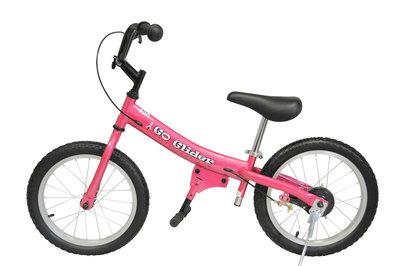 Glide Bike 16 inch loopfiets 5 tot 10 jaar ROZE