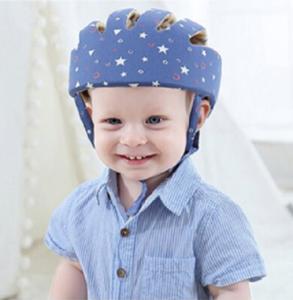 Baby valhelm zacht Blauw sterren vanaf 8 maanden