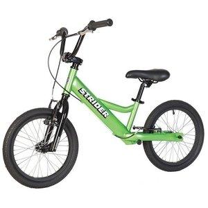 Loopfiets Super Strider 16 Sport Groen voor kinderen van 6 tot 12 jaar versie 2